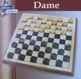 Dame - Brettspiel aus Holz  - Bild vergrößern