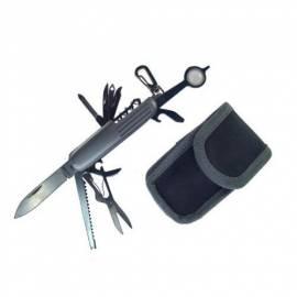 Taschenmesser mit Nylontasche - 17 Funktionen - Bild vergrößern