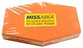 Abziehstein MissArkaUltra ROT FEPA 1000, SECHSKANTFORM - Bild vergrößern