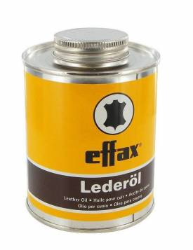 Effax Leder-Öl, Dose mit Pinsel 475ml - Bild vergrößern