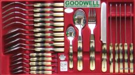 24tlg. GOODWELL Tafel-Besteck HORN