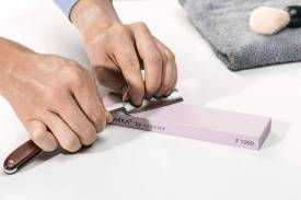 Abziehstein MissArkaUltra 1000, für Küchenmesser, Rasiermesser u.v.m. (Einzelstein) - Bild vergrößern