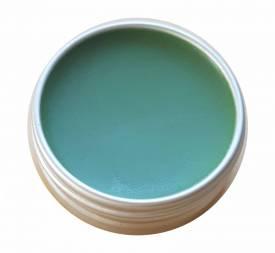 Grüne Chromoxid-Paste, 10ml - Polierpaste zur Beschichtung von Lederabziehriemen - Bild vergrößern