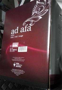 20L Party Bag-In-Box Rotwein -Adiafa-