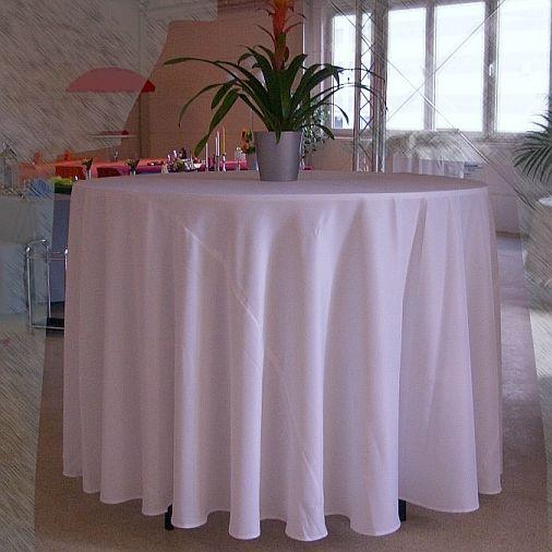 mb heimservice 320cm tischdecke rund exklusiv. Black Bedroom Furniture Sets. Home Design Ideas