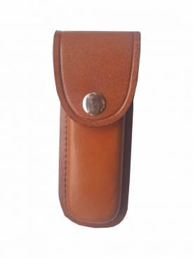 Echt-Leder-Etui für Taschenmesser mit Gürtelschlaufe, Messer-Holster - Bild vergrößern